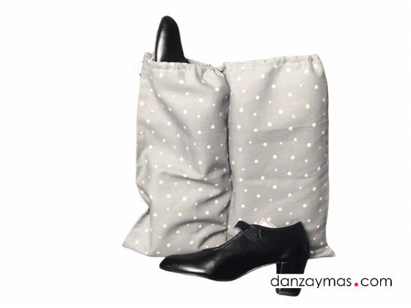 Bolsa transporte zapatos de flamenca